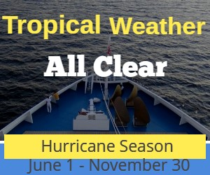 tropical weather - all clear