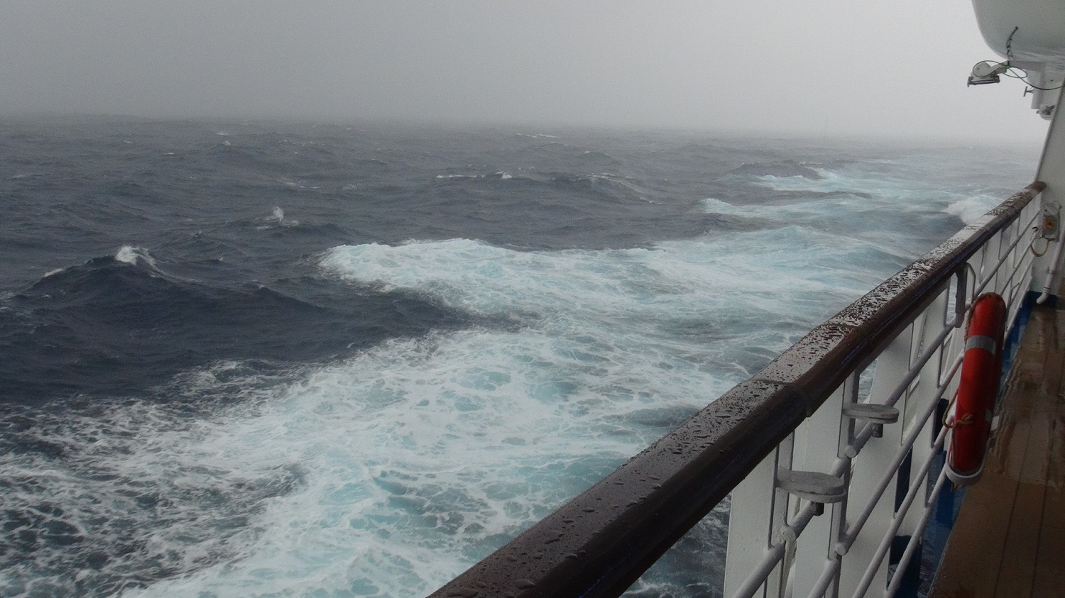 Cruise Ship Safety Overview - Cruise ship in rough waters