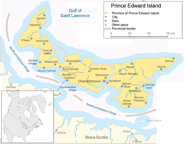 Canada And New England Maps