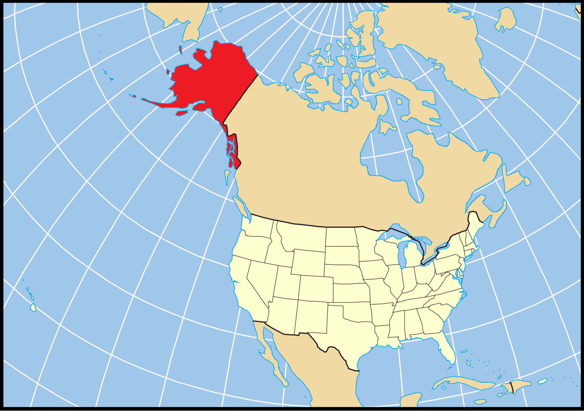Usa Canada Map With States And Cities Usa Canada Map With States - Us map hawaii