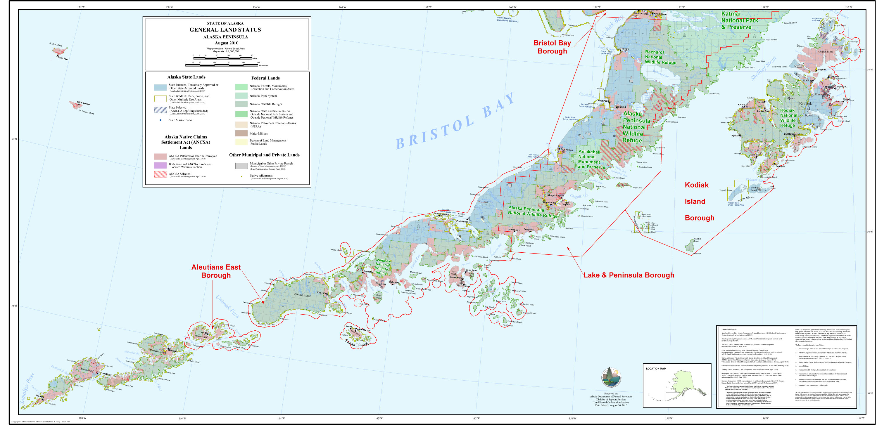 Alaska and canada port of call destination maps alaska peninsula sciox Images