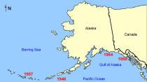 alaska tsunami map USC