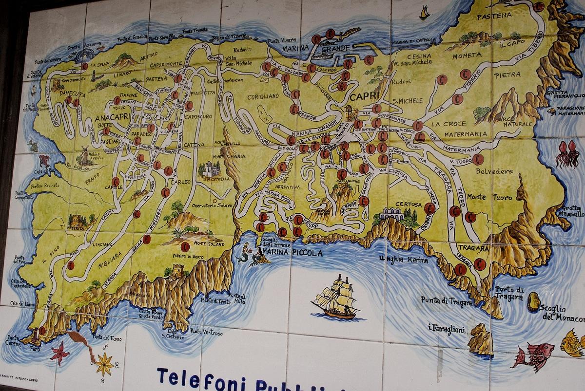 Capri Italy Cruise Ship Port Of Call Profile