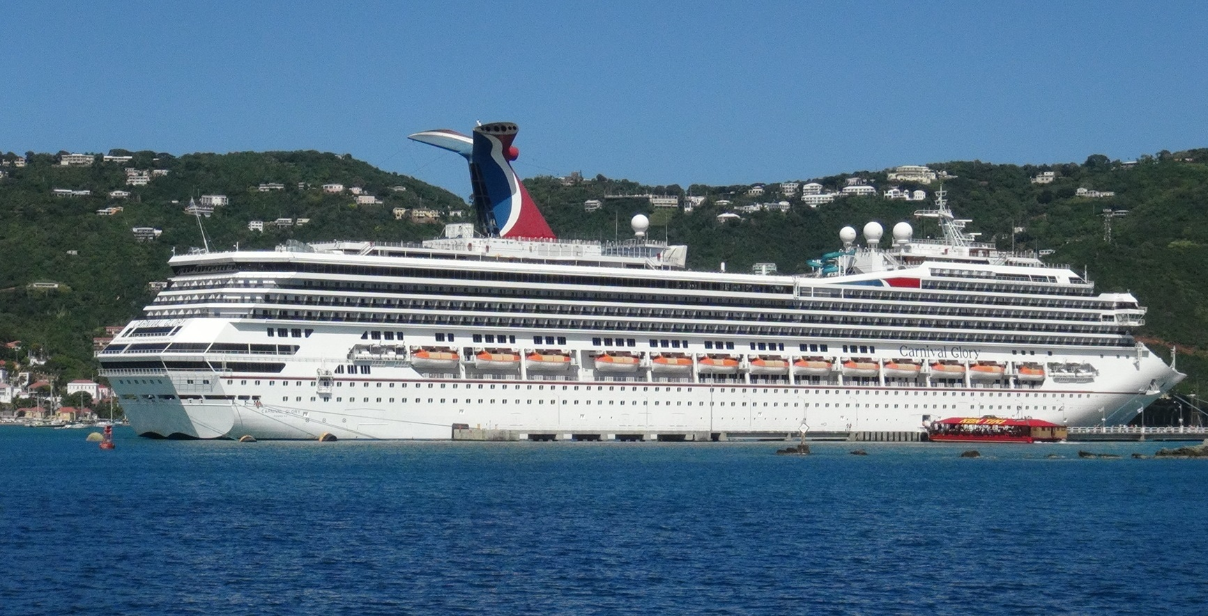 Carnival Glory Cruise Ship Profile on