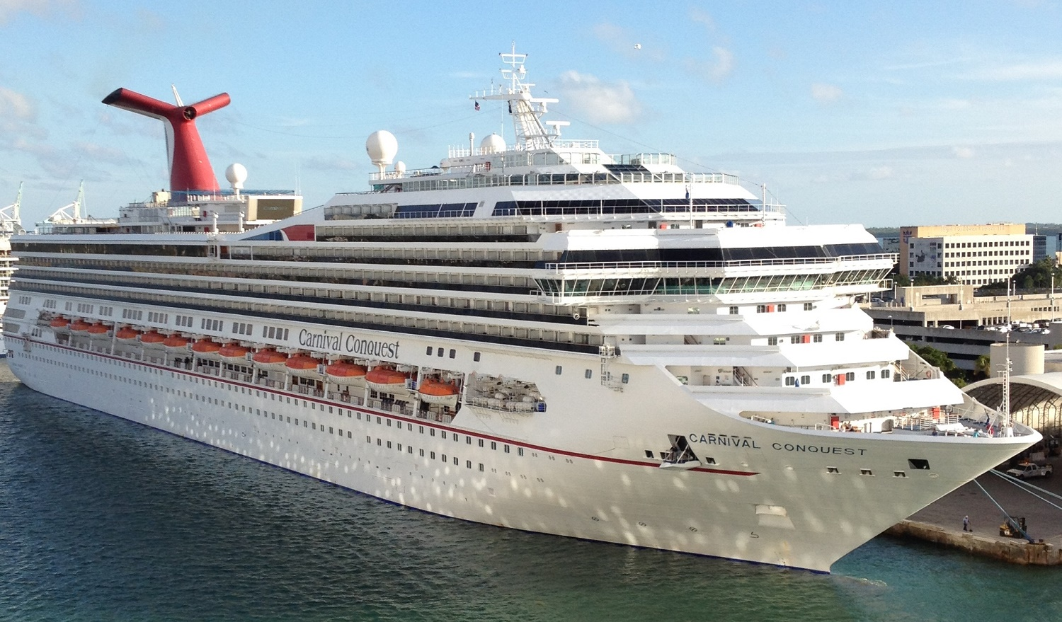 Carnival Valor Cruise Ship Profile